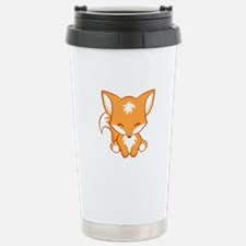 Cool Cute fox Travel Mug
