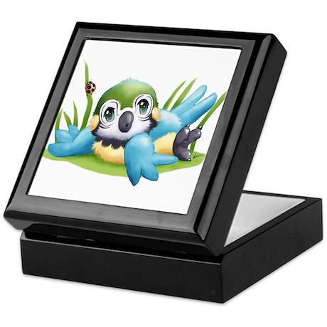 Baby Parrot Keepsake Box