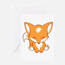 The Happy Fox Greeting Cards