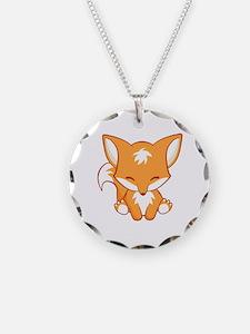 Happy Fox Necklace