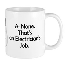 Carpenter / Electrician Riddle Mug