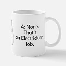 Carpenter / Electrician Riddle Mug