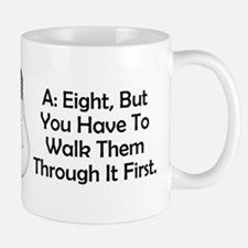 Square Dancers Riddle Mug