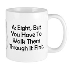 Square Dancers Riddle Small Mugs