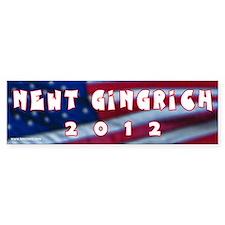 Newt Gingrich 2012 Bumper Bumper Sticker