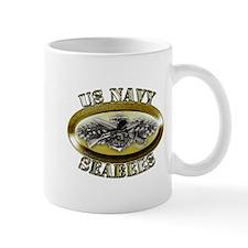 US Navy Seabees Combat Warfar Mug