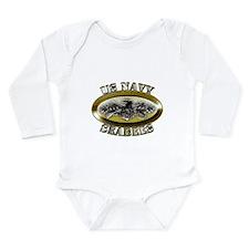 US Navy Seabees Combat Warfar Long Sleeve Infant B