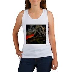 Mountain Sunset Women's Tank Top