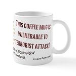 Orange Alert!  Vulnerable Mug!
