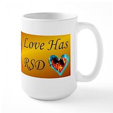 Someone I Love Has CRPS RSD Ribbon FIre Mug
