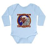 Old Rooster Long Sleeve Infant Bodysuit