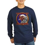 Old Rooster Long Sleeve Dark T-Shirt
