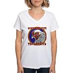 Old Rooster Women's V-Neck T-Shirt