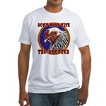Old Rooster Fitted T-Shirt