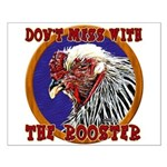 Old Rooster Small Poster