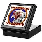 Old Rooster Keepsake Box