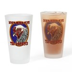 Old Rooster Drinking Glass