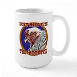 Old Rooster Large Mug