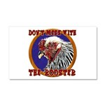 Old Rooster Car Magnet 20 x 12