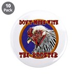 """Old Rooster 3.5"""" Button (10 pack)"""