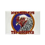 Old Rooster Rectangle Magnet