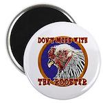 "Old Rooster 2.25"" Magnet (100 pack)"