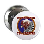"""Old Rooster 2.25"""" Button"""