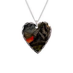 Mountain Sunset Necklace