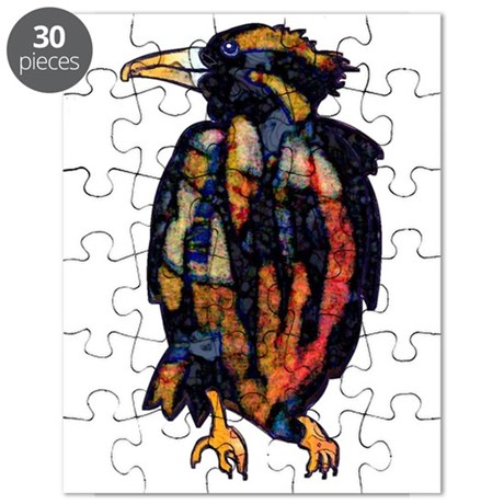 Thoughtful Raven Puzzle
