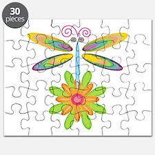 Wacky Dragonfly Puzzle