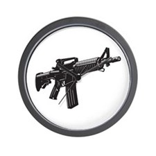 AR15 Wall Clock