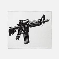 AR15 Throw Blanket