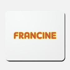 Francine in Movie Lights Mousepad