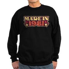 Made in 1981 Jumper Sweater