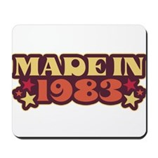 Made in 1983 Mousepad