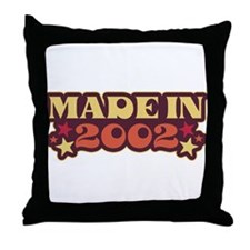 Made in 2002 Throw Pillow