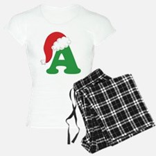 Christmas Letter A Alphabet Pajamas