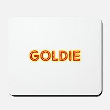 Goldie in Movie Lights Mousepad