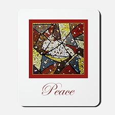Peace Dove Christmas Mousepad