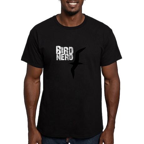 Bird Nerd (Frigatebird) Men's Fitted T-Shirt (dark