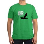 Bird Nerd (Goose) Men's Fitted T-Shirt (dark)
