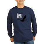 Bird Nerd (Goose) Long Sleeve Dark T-Shirt