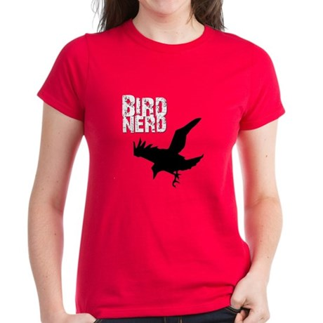 Bird Nerd (Raven) Women's Dark T-Shirt