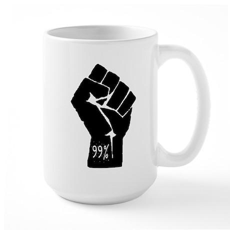 99 % Fist Large Mug