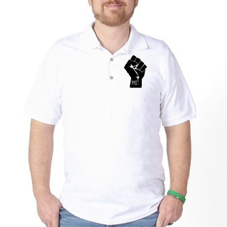 99 % Fist Golf Shirt