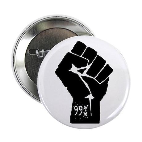 "99 % Fist 2.25"" Button"