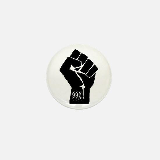 99 % Fist Mini Button