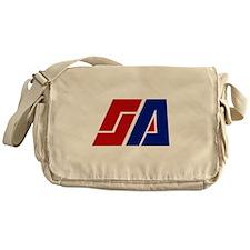 Space Academy Logo Messenger Bag