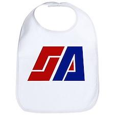 Space Academy Logo Bib
