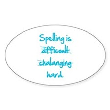Spelling Decal